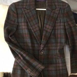 Ralph Lauren plaid blazer